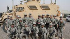 Ismeretlenek gránátokat lőttek ki egy amerikai bázisra Irakban