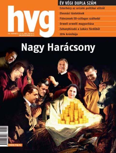 Tiltakozás a HVG Jézus születéséből gúnyt űző címlapja ellen