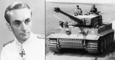 A nyaklövést is túlélte az utolsó német páncélos ász
