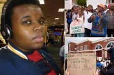 Zavargás tört ki a lelőtt feketebőrű fiatal rabló miatt