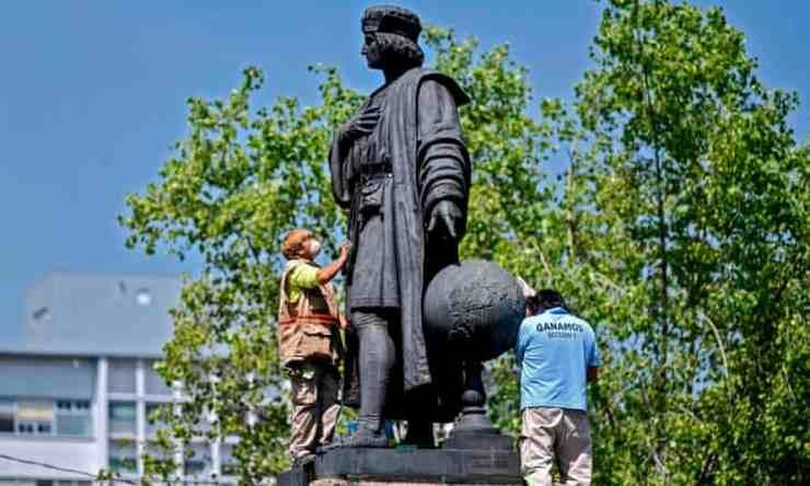 Őslakos nő szobra kerül Kolumbusz helyére Mexikóvárosban