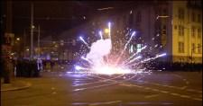Több rendőr megsérült Németországban, miután az Antifa rájuk támadt
