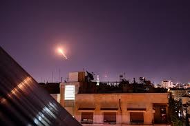 Újabb izrael légicsapást vert vissza a szíriai légvédelem