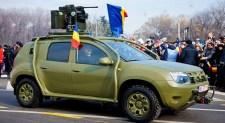 Románia fegyverkezik