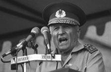 Egyetlen politikus sem jelent meg a véreskezű államfő temetésén