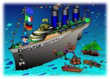 Totális elmebaj: még az embercsempészek ellen harcba küldött hadihajók is százával szállítják a négereket Európába