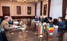 Köszönetet mondott a román védelmi miniszter Magyarországnak