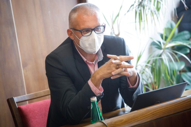 Miroslav Kollár megtorpedózná a PS és a SPOLU fúzióját