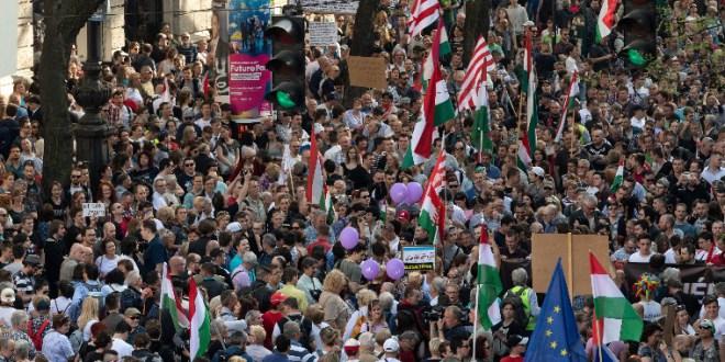 Több ezer ember előtt harsogták, hogy nincs szólásszabadság – a tegnapi tünti összefoglalója