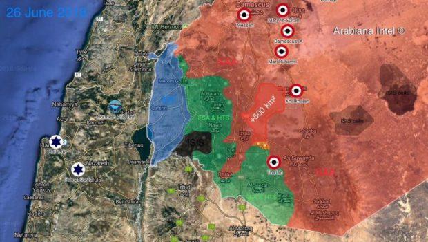 A Tigris Alakulatok Al-Hirak és Nahita felé nyomulnak előre Dél-Szíriában (képek)