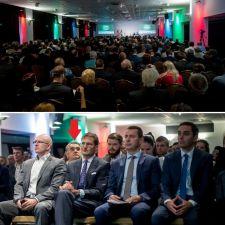 """Így ücsörög előkelő helyen a CEU alapítója, volt rektorhelyettese a Jobbik """"soros kongresszusán"""" – akivel már ugye nincs is érdemi kapcsolata a pártnak"""