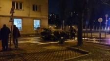 Porig égett egy BMW a 13. kerületben
