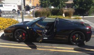 A tolvaj kétszer lopta el a Ferrarit, majd lebukott