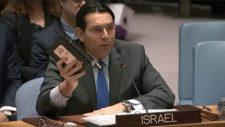 Izrael ENSZ nagykövete szerint joguk van bárkinek a földjét elrabolni