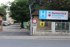 A komáromi kórházban még szigorúbb intézkedéseket vezettek be, ennek része az úgynevezett triázs