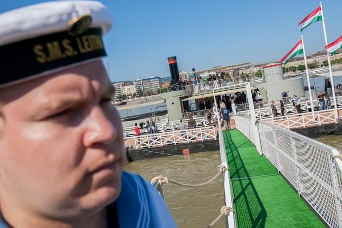 A Lajta monitor egy erős Magyarország hajója