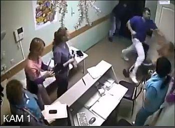 Agyonütött egy beteget egy orvos Oroszországban – VIDEÓ