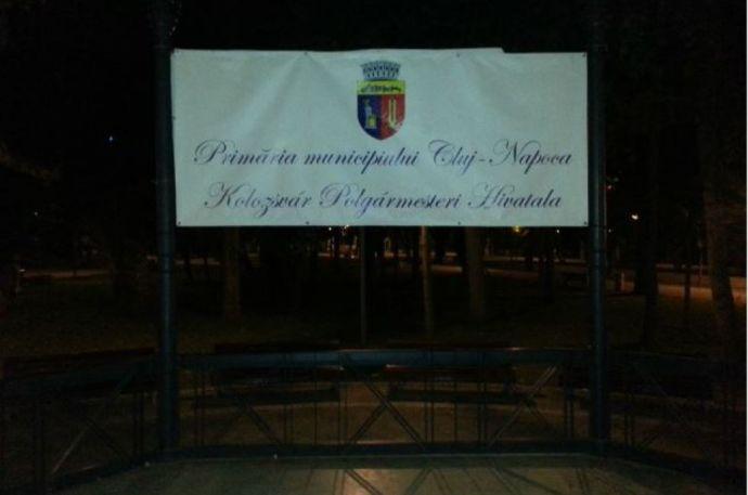 Szinte azonnal eltüntették a magyar feliratot