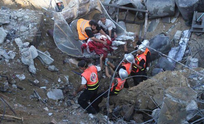 """A gázai gyermekgyilkosságot kozmetikázó """"magyar"""" sajtó figyelmébe: a palesztin halottak száma elérte az 1049-et"""