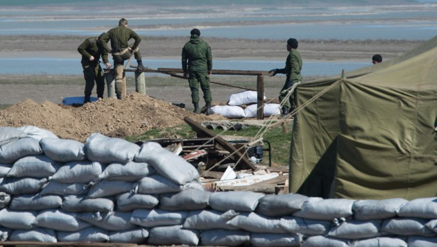 Oroszország határkerítést épít a Krím-félsziget és Ukrajna közé
