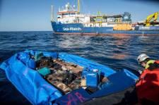 Az olasz hatóságok lezárták a Soros-szervezet hajója körüli tengerszakaszt