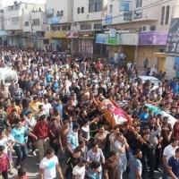 Az izraeli erők egy palesztin temetésre támadtak Khalilban