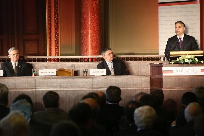 Orbán Viktor: A rombolás erejével hatnak ezek a szavak