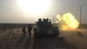 A Szíriai Arab Hadsereg ISIS terroristákkal csapott össze az USA által megszállt Al-Tanf körzetében (videó)