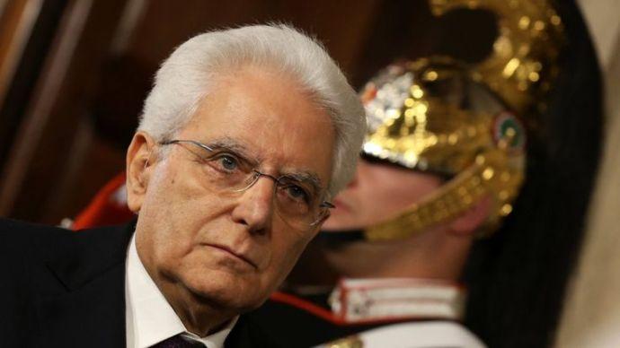 Drámai fordulat Olaszországban: Az olasz államfő meglépte azt, amit Kiska nem mert