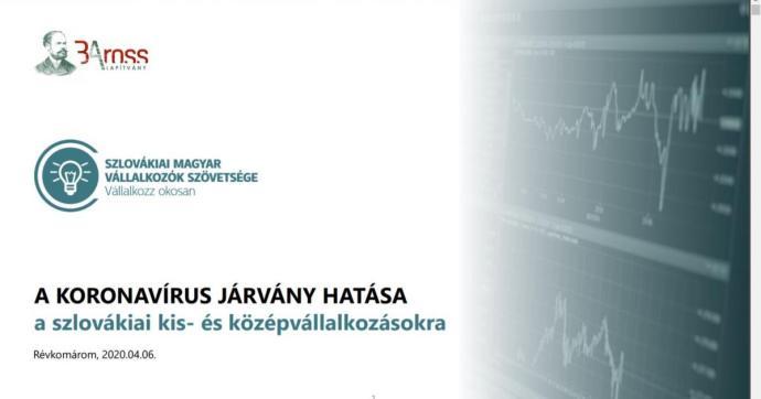 A koronavírus járvány hatása a szlovákiai kis-és középvállalkozásokra