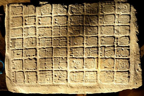 Teljesen ép maja hieroglifákat tártak fel Guatemalában