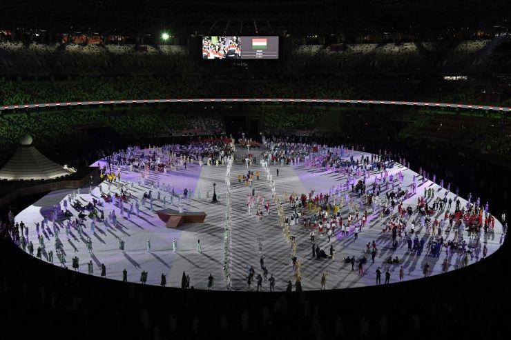 Japán hangulat a zárt kapus ünnepélyes megnyitón