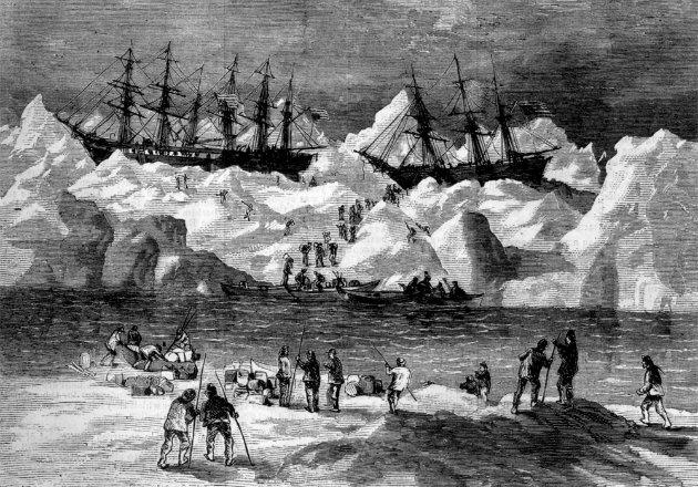 Bálnavadász-szerencsétlenségről mesélhetnek az alaszkai hajók roncsai