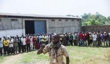 Pattanásig feszült a helyzet Afrika szívében