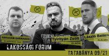 A radikalizmus visszatér! – Erő és Elszántság Tatabányán!