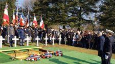 Több mint 100 évvel a halála után temettek el egy francia katonát