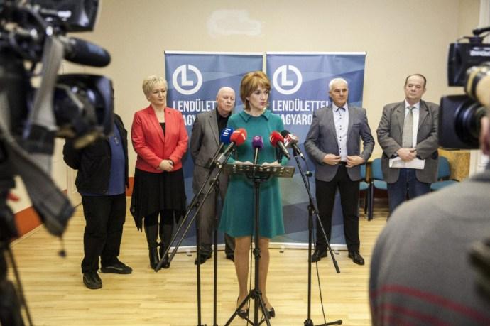 Lévai Katalin semmiből előtörő pártja szabdalhatja tovább a baloldalt