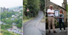 Megdőlt a Guiness-rekord: Wales-ben van a világ legmeredekebb utcája