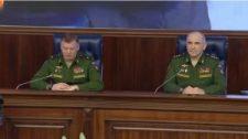 Orosz Vezérkar hadműveleti főcsoportfőnökének sajtótájékoztatója a Szíriai Háborúról