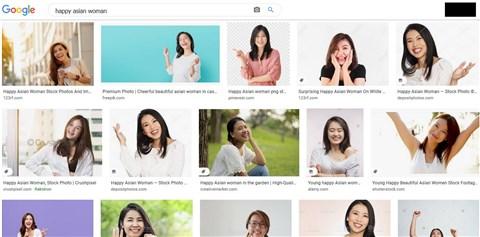 Ilyenek a boldog nők a Google tálalásában