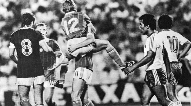Máig tartó rekordokat állított be a magyar válogatott El Salvador ellen 1982-ben