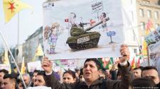 Török-kurd háború: Törökellenes tüntetések Európában, háborús propragandafilmek Törökországban
