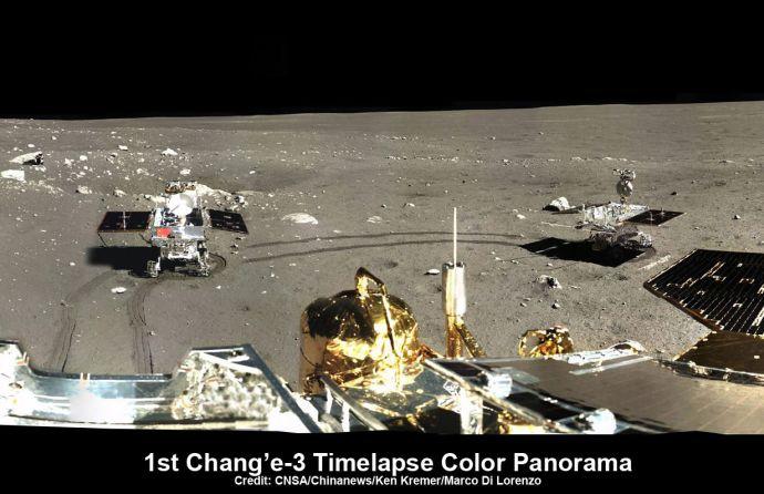 A kínaiak megcsinálták: Leszállt az első, ember alkotta szerkezet a Hold túloldalán – Videó