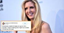 """Újabb botrány tombol: Ann Coulter amerikai újságírónő """"twitter-üzenet rohamban"""" antiszemitázott"""
