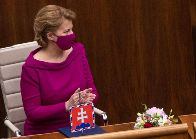 Szerdán a parlamentben értékeli Čaputová az ország helyzetét