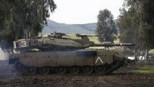 Izraeli tank sértette meg a fegyverszüneti zónát szíriai területen