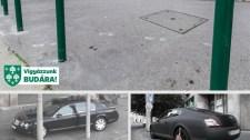 Bekeményít a szabálytalanul parkolókkal szemben az egyik kerület