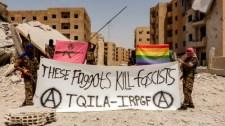 Megalakult az első anarchista LMBTQI+ milícia Szíriában – persze a keresztényeket is kinyírják