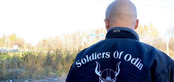 """Odin katonái – """"gárdisták"""" vigyáznak a rendre Finnországban, a kormányfő pedig nem fenyegeti pofonokkal őket, és nem hoz törvényt ellenük"""