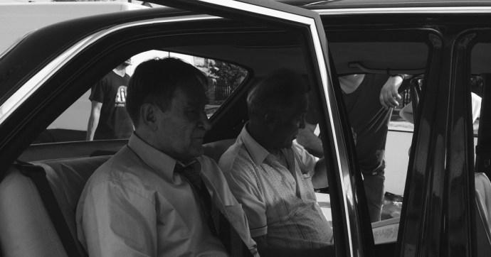 Cserhalmi György III/III-as ügynökként beült Grósz Károly fekete szolgálati autójába